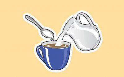 Škodlivosť kávy s mliekom